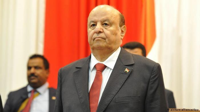 Abed Rabbo Mansur Hadi, international anerkannter Präsident des Jemen
