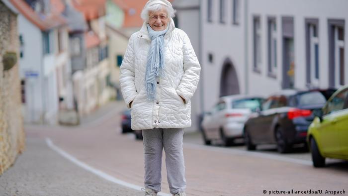 Lisel Heise standing in a street