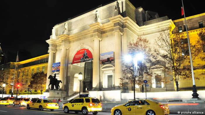 Das renovierte American Museum of Natural History, Manhattan, New York City