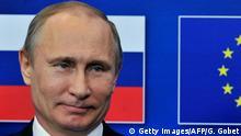 Belgien EU Wladimir Putin in Brüssel