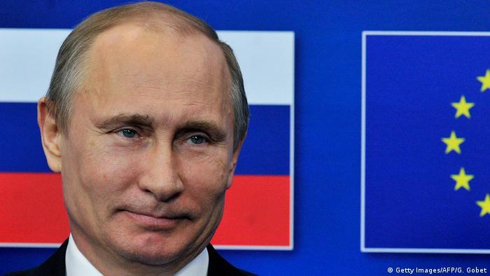 Belgien EU Wladimir Putin in Brüssel (Getty Images/AFP/G. Gobet)