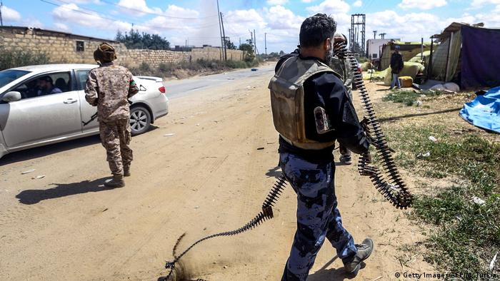 Libyen Wadi Rabie Kämpfe bei Tripolis