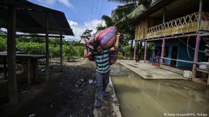 Kolumbien Tumaco im Departamento de Nariño (Getty Images/AFP/L. Robayo)