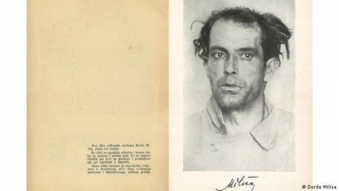 Đorđe Miliša - iz knjige U mučilištu - paklu Jasenovac, čiji je pretisak objavljen 2011. u Nakladi Pavičić