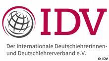 Logo des Internationalen Deutschlehrerinnen- und Deutschlehrerverbands IDV