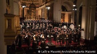 Από την παρουσίαση του Ρέκβιεμ στον Άγιο Μάρκο στις 12 Απριλίου.