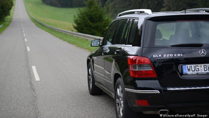 Mercedes-Benz GLK в Германии