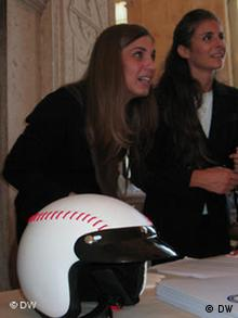 A baseball scooter helmet in Nettuno