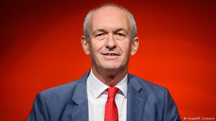 Richard Corbett Labour Party Leader im Europäischen Parlament Labour Party-Jahreskonferenz 2018 Richard Corbett Labour Party Leader im Europäischen Parlament
