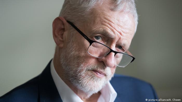 Brexit - Labour leader Jeremy Corbyn