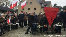 Veranstaltung zum Jahrestag der Befreiung des Frauen-Konzentrationslager Ravensbrück. Aufgenommen am 14.04.2019