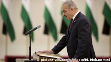 Palästinensischer Premierminister Mohammed Ishtaye