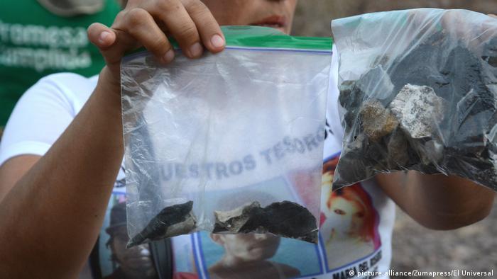 Mexiko Massengrab auf einem Feld bei Cajeme entdeckt (picture.alliance/Zumapress/El Universal)