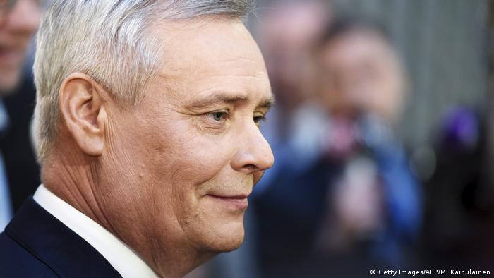 Líder do Partido Social-Democrata e ex-líder sindical Antti Rinne