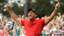 Golfprofi Tiger Woods beim Masters in Augusta (Getty Images/A. Redington)
