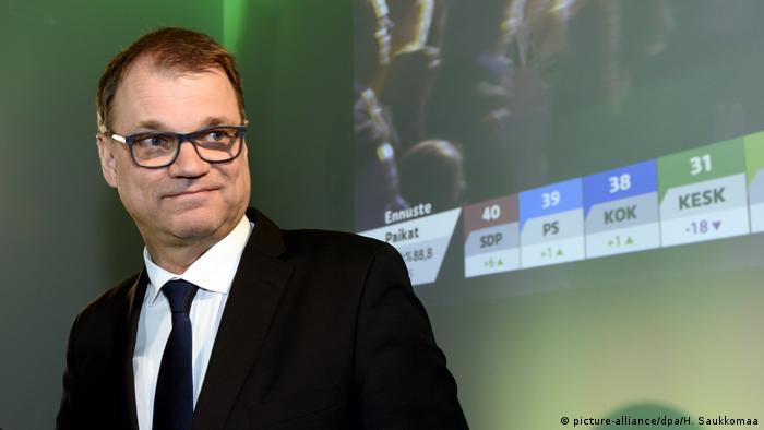 Finnland: Parlamentswahlen in Helsinki - Juha Sipilä