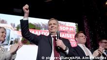 Finnland: Parlamentswahlen in Helsinki - Antti Rinne