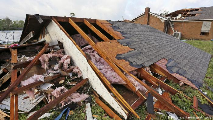 USA: Unwetter im Bundesstaat Mississippi (picture-alliance/dpa/J. Lytle)