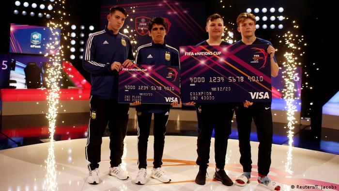 Großbritannien FIFA eNations Cup | Esports - Gewinner Frankreich