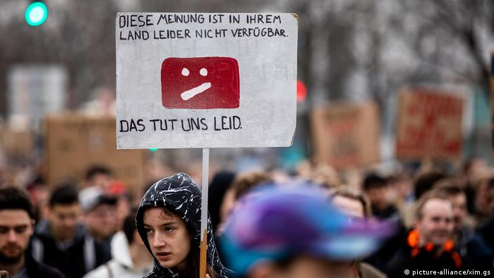Deutschland geplante EU-Urheberrechtsreform in Hamburg
