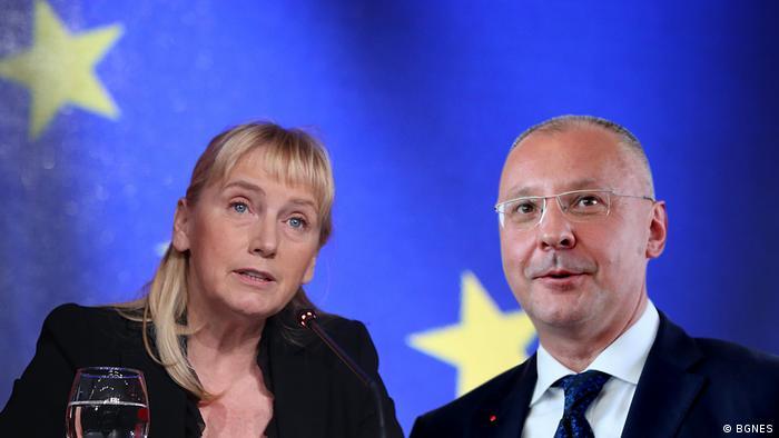 Elena Jontscheva und Sergei Stanischev