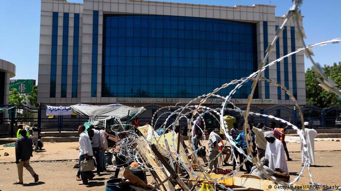 Sudan Protest vor Militärhauptquartier in Khartum