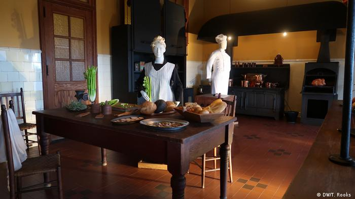 One of the kitchens at the Biltmore Estate in Asheville. Photo by Timothy A. Rooks