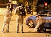 پلیس آتن در  مقابله با حملات تروریستی، عکس از آرشیو