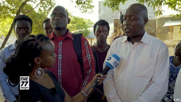 Kenia Straßendebatte (DW)