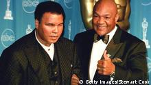 George Foreman Muhammad Ali 1997 (Getty Images/Stewart Cook)