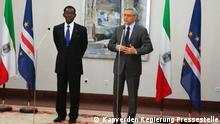 Besuch des Präsidenten Obiang in Kapverden