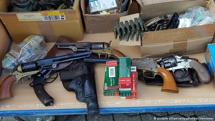 German police find 51 guns at Hanover home | News | DW