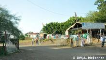 Grenzenkontrolle am Metema zwischen Äthiopian und Sudan