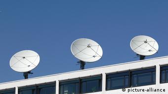 Parabolantennen 'Deutsche Welle'