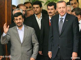 رهبران ایران و ترکیه در این سالها دائماَ با هم دیدار داشتهاند