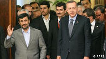 Erdogan in Teheran