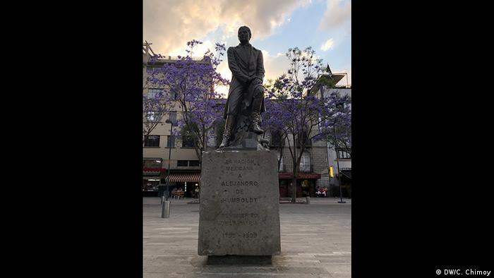 Alexander von Humboldt in Mexiko (DW/C. Chimoy)