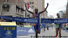 Boston Marathon Sieger Lawrence Cherono
