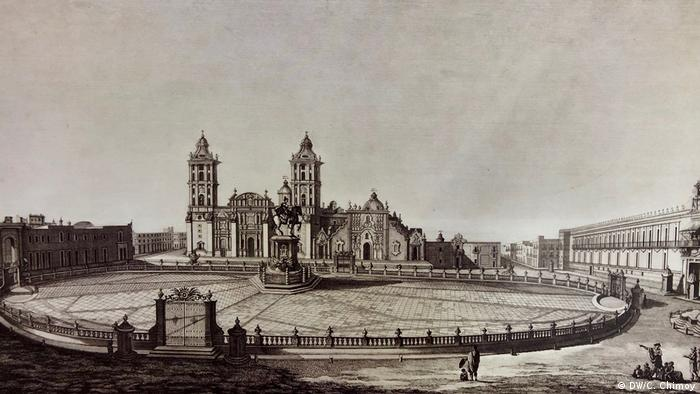 Mexico City bei Alexander von Humboldt (DW/C. Chimoy)