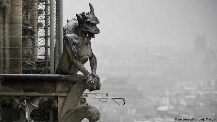 Notre Dame's famed gargoyles