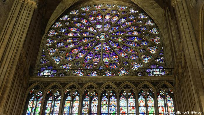 Notre Dame's stained-glass windows