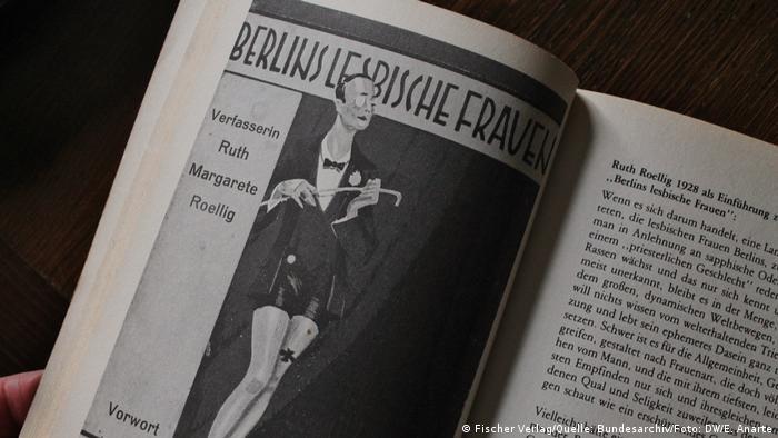 Title page of Berlin's Lesbian Women (DW/E. Anarte)