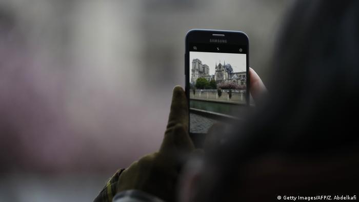 Frankreich Paris | Brand der Kathedrale Notre-Dame de Paris (Getty Images/AFP/Z. Abdelkafi)