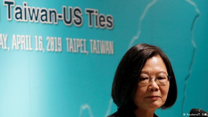Taiwan Tsai Ing-wen, Präsidentin (Reuters/T. Siu)