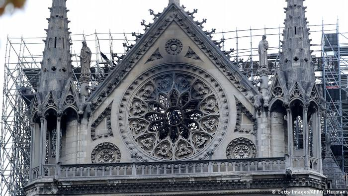 Frankreich Paris | Brand der Kathedrale Notre-Dame de Paris (Getty Images/AFP/Y. Herman)