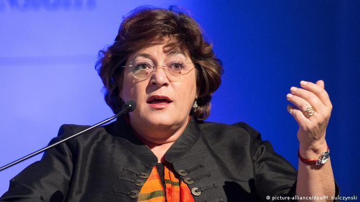 Polen Portugal Europaabgeordnete Ana Gomes (picture-alliance/dpa/M. Kulczynski)