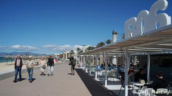 Ballermann 6 beach bar in Palma, Mallorca (DW/J. Martiny)
