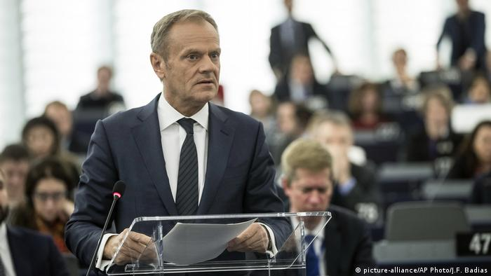 European Council President Donald Tusk (picture-alliance/AP Photo/J.F. Badias)