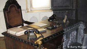 Reconstruction of an office of the Hungarian State Security Authority