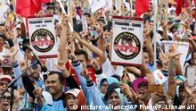 Indonesien Wahlwerbung